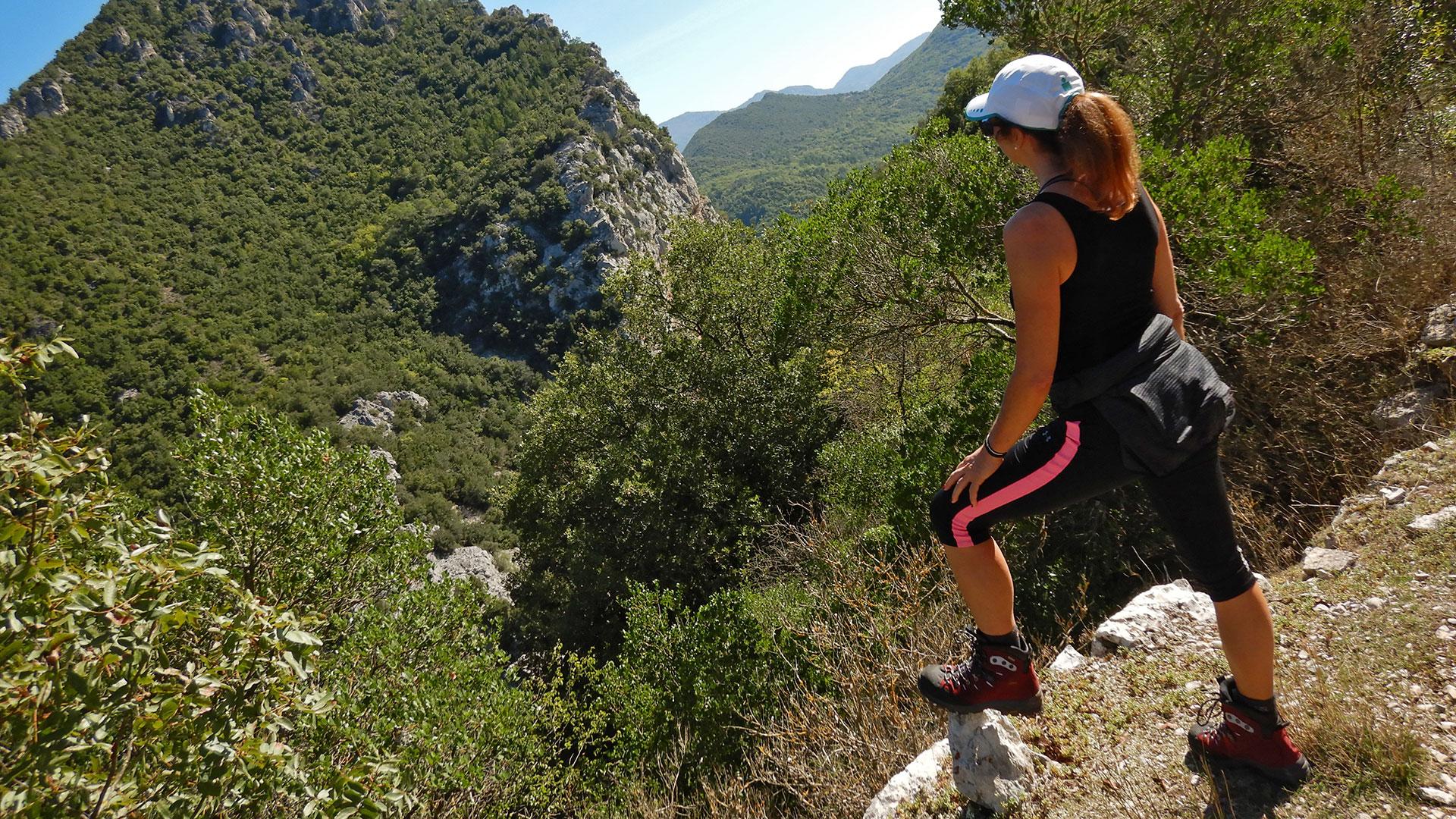 Préalpes d'Azur. Gilette - Gorges de l'Estéron