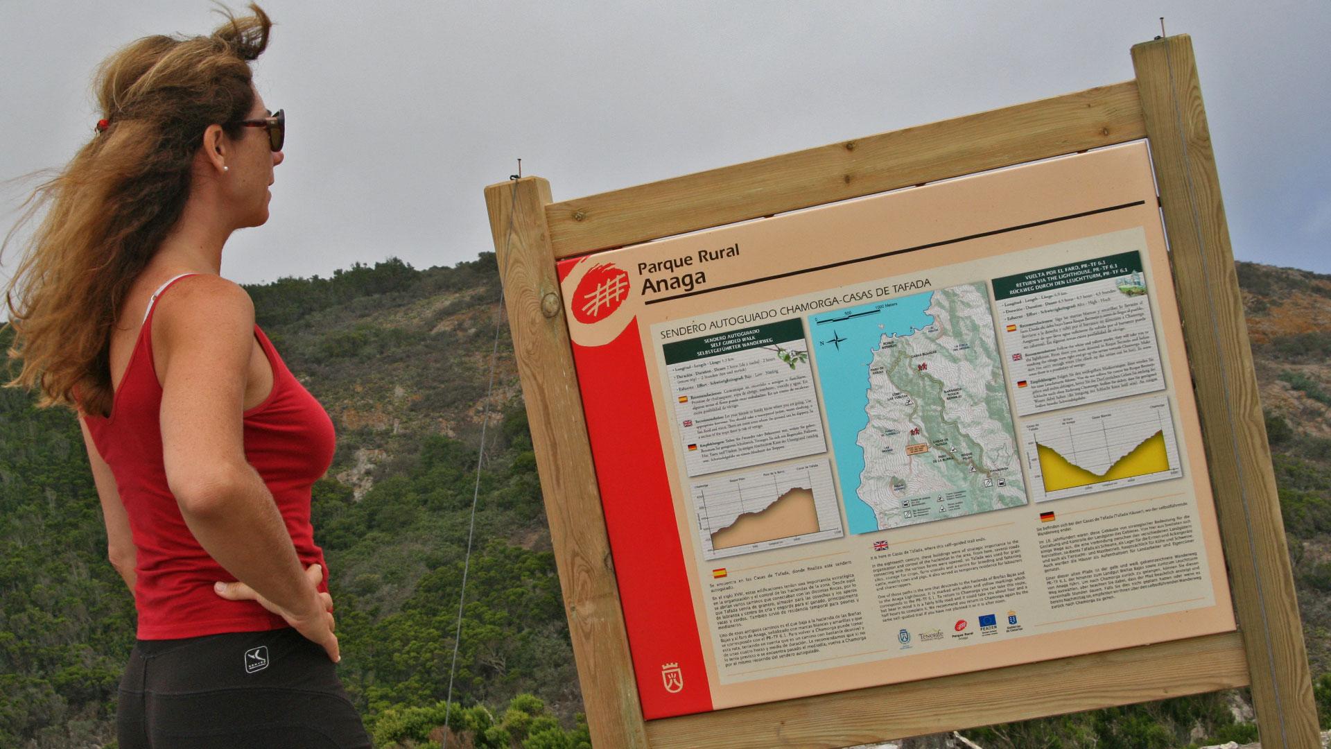 Relive Parque Rural de Anaga. Chamorga-Roque Bermejo