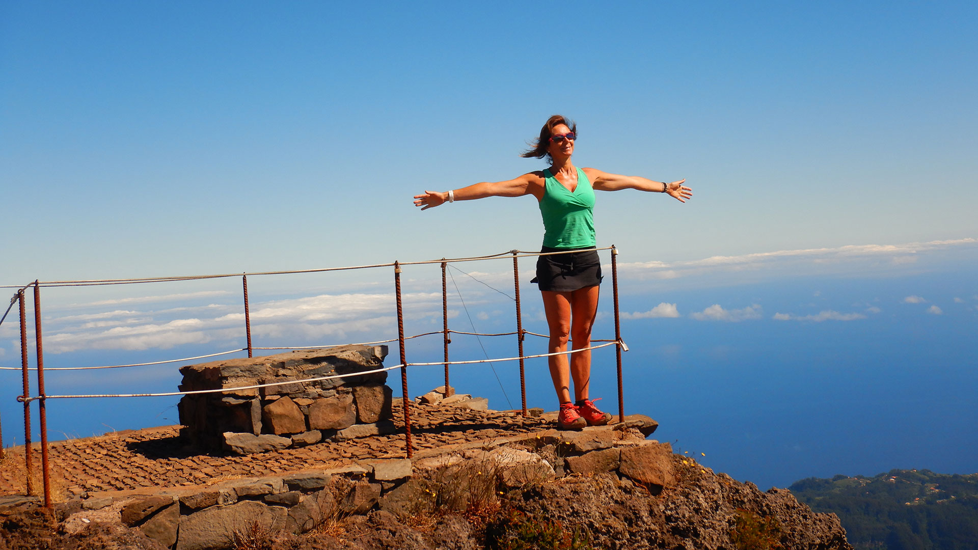 Madeira PR1 -Pico Areeiro – Pico Ruivo