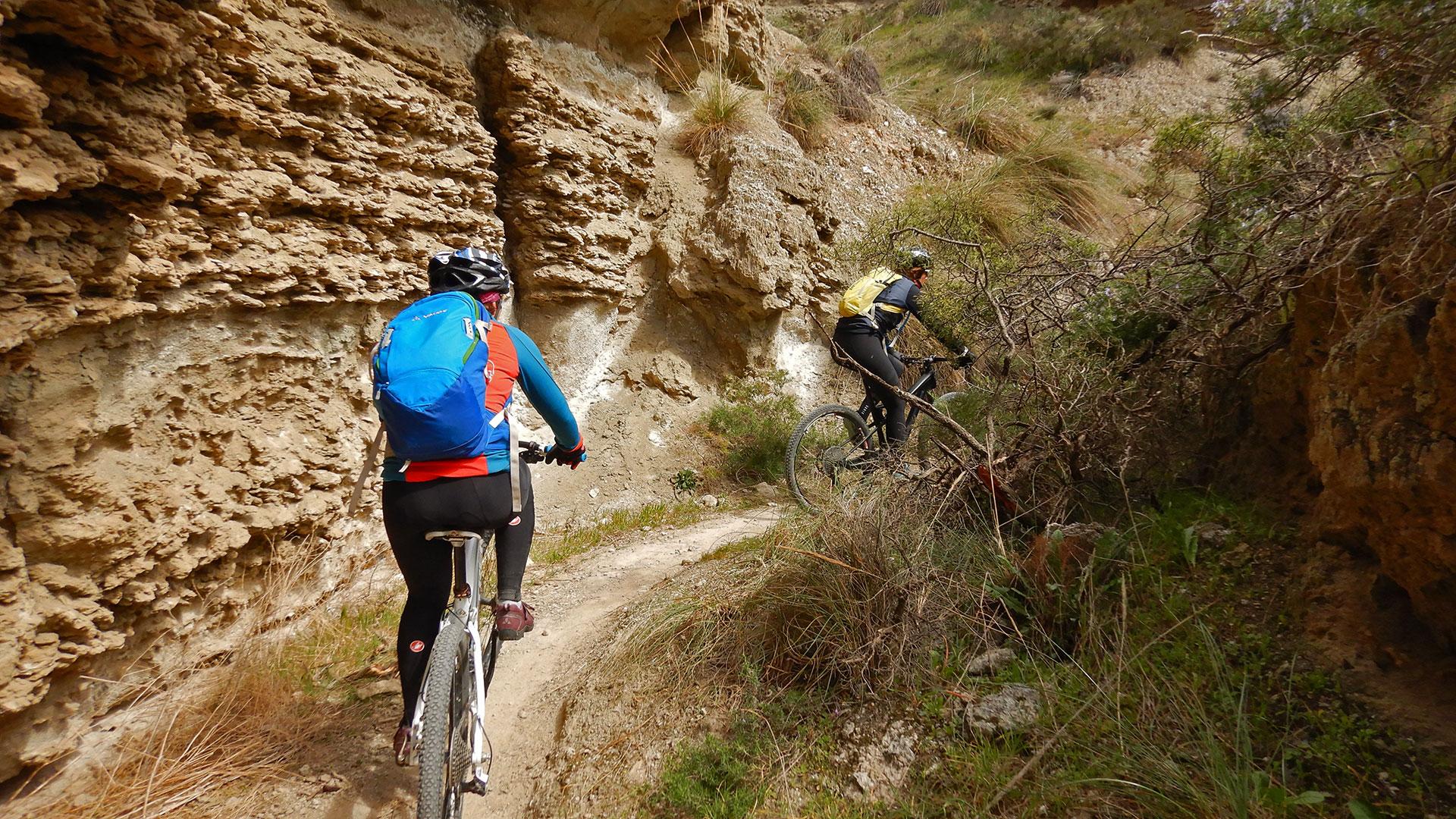 Ruta Barrancos, toboganes y senderos de Titulcia-Mina Consuelo